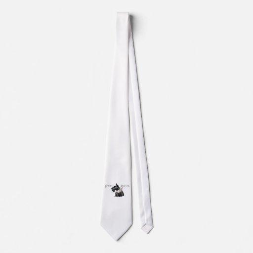 Juerguista curioso del escocés corbata