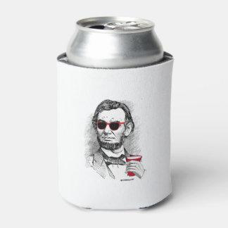 Juerguista de Abraham Lincoln Enfriador De Latas