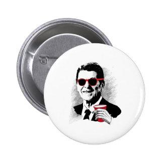 Juerguista de Reagan Pin Redondo 5 Cm