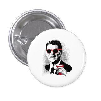 Juerguista de Reagan Pin Redondo 2,5 Cm