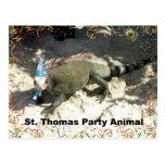 ¡Juerguista de St Thomas! Postales