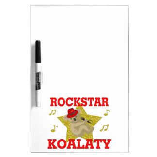 Juerguista del canto de Rockstar Koalaty Pizarra