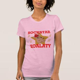 Juerguista del canto de Rockstar Koalaty Camisetas