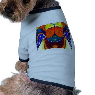Juerguista - el fiesta del tema forma V1 Camisetas De Perro