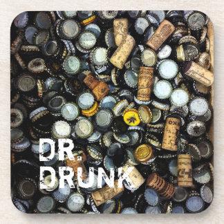 Juerguista - práctico de costa de Dr.Drunk el | Posavasos De Bebidas