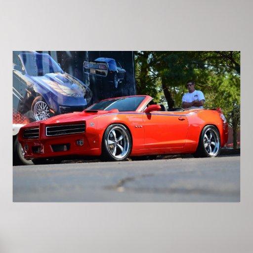 Juez 2012 de Pontiac GTO Póster