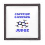 Juez accionado cafeína cajas de recuerdo de calidad
