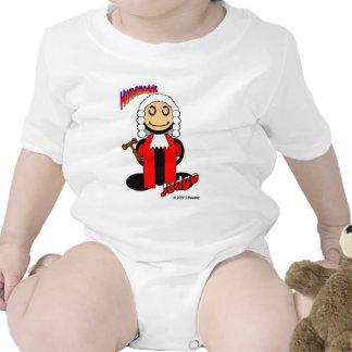 Juez (con los logotipos) traje de bebé