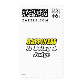 Juez de la felicidad…