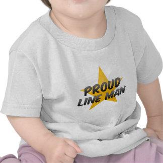 Juez de línea orgulloso camiseta