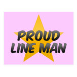 Juez de línea orgulloso postales