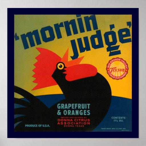 Juez de Mornin Impresiones