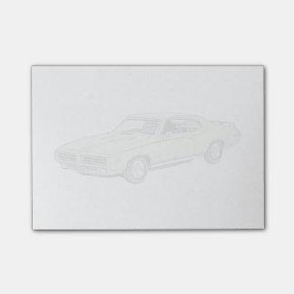 Juez de Pontiac GTO 1969 Nota Post-it