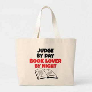 Juez del aficionado a los libros bolsas de mano
