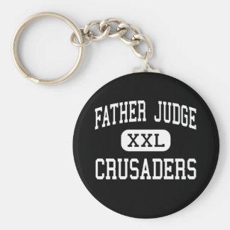 Juez del padre - cruzados - alto - Philadelphia Llavero