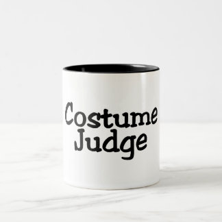Juez del traje taza