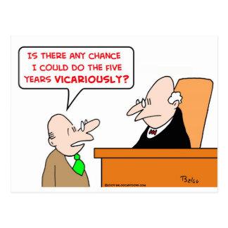 juez delegado postal
