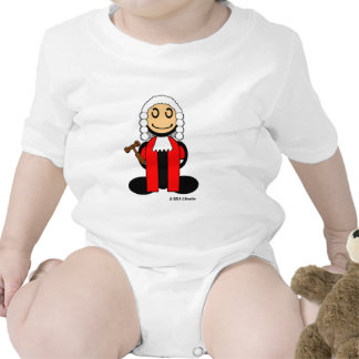 Juez (llano) trajes de bebé