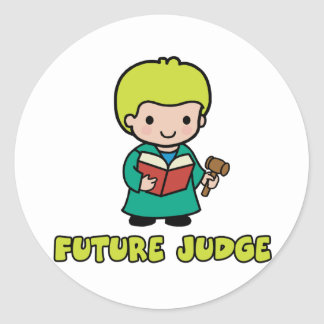 Juez Pegatina