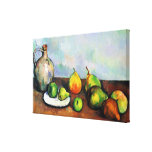 Jug and Fruits ~ Paul Cézanne Stretched Canvas Prints