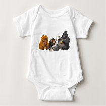 Jug Band of the Apes Baby Bodysuit