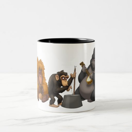 Jug Band of the Apes Mug