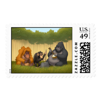 Jug Band of the Apes Stamps