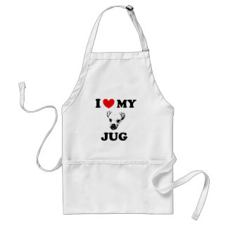 jug dog adult apron