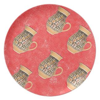 jug-have-water-Berber Melamine Plate