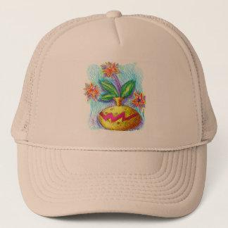 Jug Of Flowers Trucker Hat