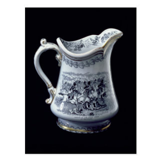 Jug with a depiction of the Charge of the Scots Postcard