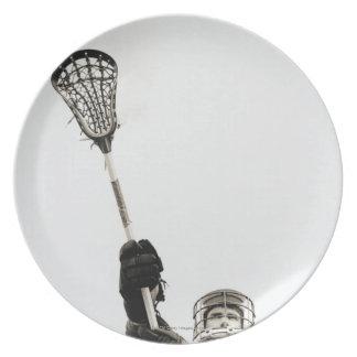 Jugador 3 de LaCrosse Platos