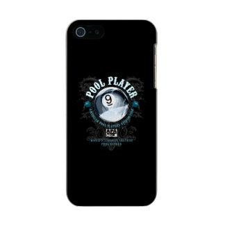 Jugador 9-Ball afiligranado de la piscina Funda Para iPhone 5 Incipio Feather Shine