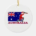 Jugador australiano del grillo ornatos