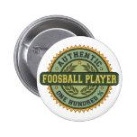 Jugador auténtico de Foosball Pin