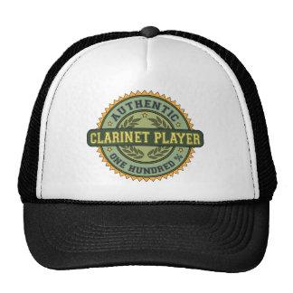 Jugador auténtico del Clarinet Gorras