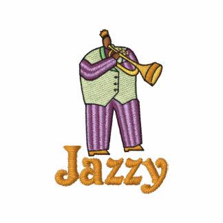 Jugador bordado del jazz para el carnaval