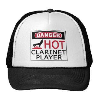 Jugador caliente del Clarinet Gorro De Camionero