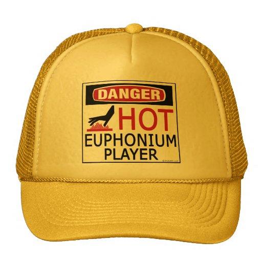 Jugador caliente del Euphonium Gorras De Camionero