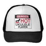 Jugador caliente del Ukulele Gorras De Camionero