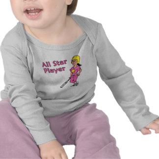 Jugador de All Star - chica Camiseta