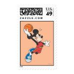 Jugador de básquet 2 de Mickey Mouse Franqueo