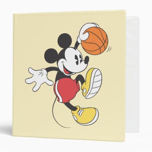 Jugador de básquet 3 de Mickey Mouse