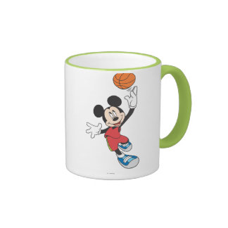 Jugador de básquet 5 de Mickey Mouse Taza