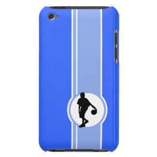 Jugador de básquet Azul iPod Touch Cobertura