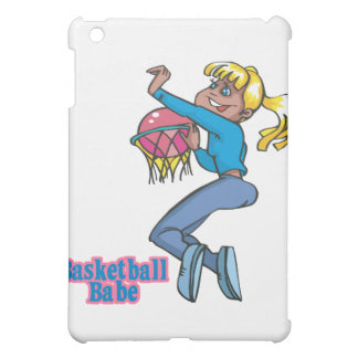 jugador de básquet de los chicas del bebé del balo