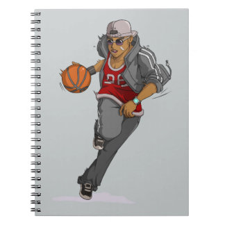 Jugador de básquet de Manga Libretas Espirales
