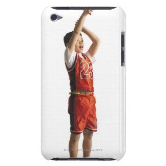 jugador de básquet de sexo masculino afroamericano iPod touch protector