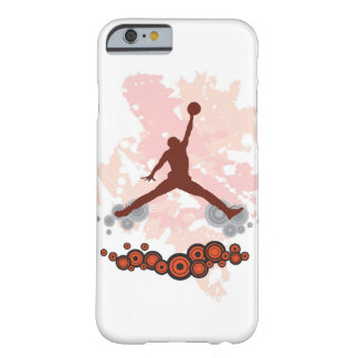 Jugador de básquet del Spiker Funda De iPhone 6 Barely There