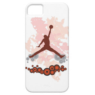 Jugador de básquet del Spiker iPhone 5 Case-Mate Coberturas